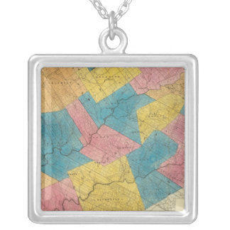 Delaware County Silver Plated Necklace