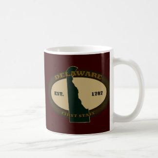 Delaware Est. 1787 Coffee Mug