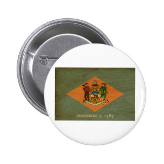Delaware Flag Buttons