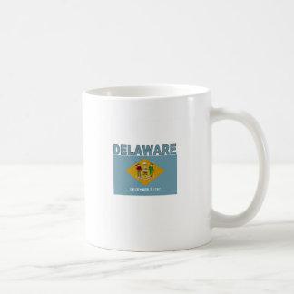 Delaware Flag Coffee Mugs