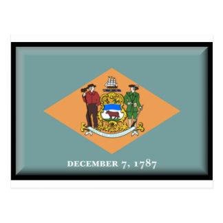 Delaware Flag Postcard
