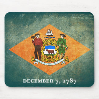 Delaware flag souvenir mouse pad