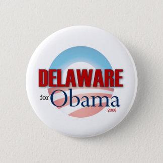 Delaware for Obama 6 Cm Round Badge