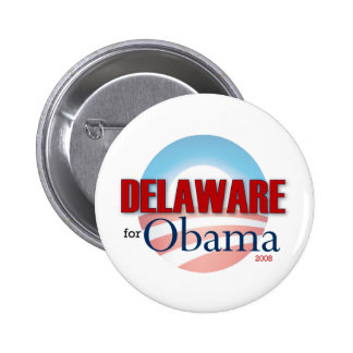 Delaware for Obama 6 Cm Round Badge