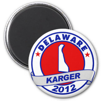 Delaware Fred Karger 6 Cm Round Magnet