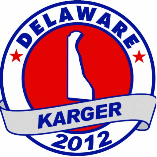 Delaware Fred Karger Photo Cut Outs