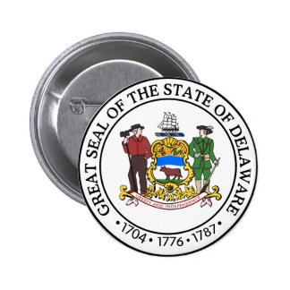 Delaware Great Seal Pin