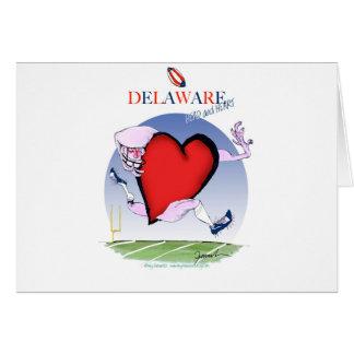delaware head heart, tony fernandes card
