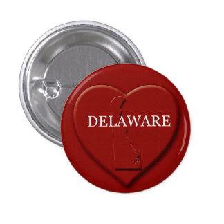 Delaware Heart Map Design Button