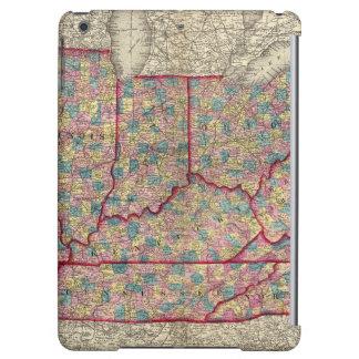 Delaware, Illinois, Indiana, and Iowa