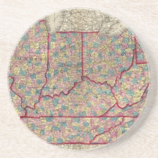 Delaware, Illinois, Indiana, and Iowa Coaster