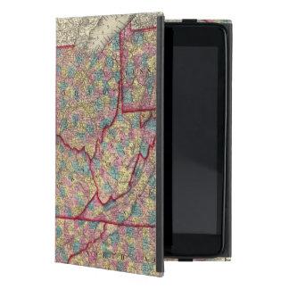 Delaware, Illinois, Indiana, and Iowa Cover For iPad Mini