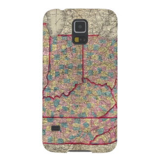 Delaware, Illinois, Indiana, and Iowa Galaxy S5 Case