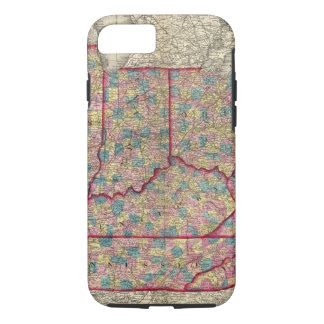 Delaware, Illinois, Indiana, and Iowa iPhone 7 Case