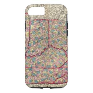 Delaware, Illinois, Indiana, and Iowa iPhone 7 Case