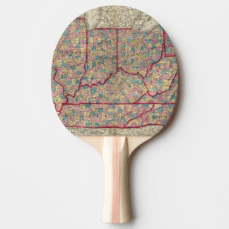 Delaware, Illinois, Indiana, and Iowa Ping Pong Paddle