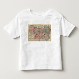 Delaware, Illinois, Indiana, and Iowa Toddler T-Shirt