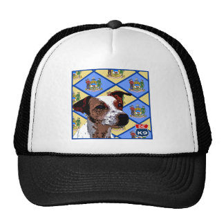 Delaware Jack Russell Mesh Hat