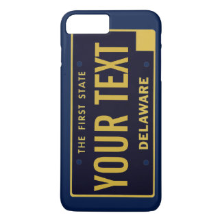 Delaware License plate cell phone case