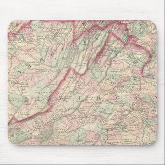 Delaware, Maryland, Virginia, West Virginia Mouse Mat