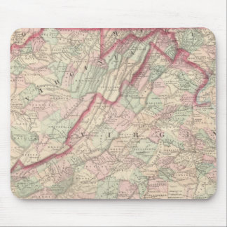 Delaware, Maryland, Virginia, West Virginia Mouse Pad