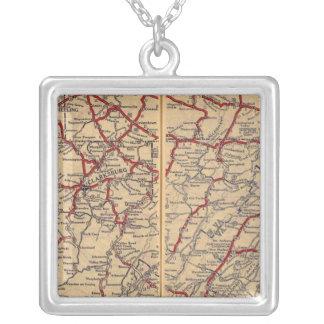 Delaware, Maryland, Virginia, West Virginia Silver Plated Necklace