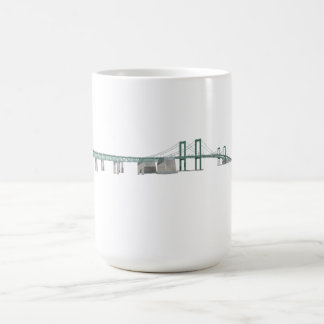 Delaware Memorial Bridge: 3D Model: Coffee Mug