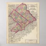 Delaware, Montgomery, Bucks counties