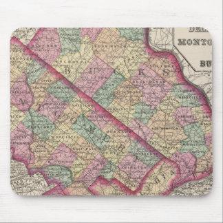 Delaware, Montgomery, Bucks counties Mouse Mat
