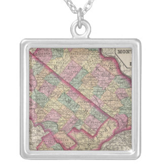 Delaware, Montgomery, Bucks counties Silver Plated Necklace