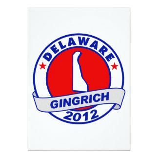 Delaware Newt Gingrich Custom Invite