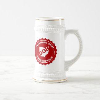 Delaware Ohio Homebrewers Beer Steins
