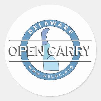 Delaware Open Carry Sticker