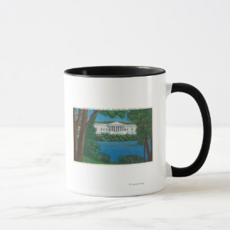 Delaware Park Historical Bldg and Lake View Mug