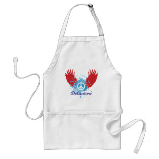 Delaware Peace Adult Apron