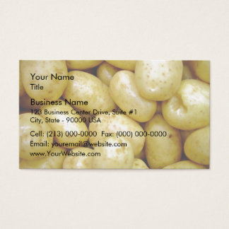 Delaware potatoe business card