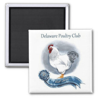 Delaware Poultry Club Magnet