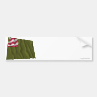 Delaware Regimental Color - Dansey Flag Bumper Sticker