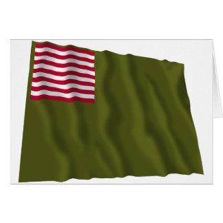 Delaware Regimental Color - Dansey Flag Greeting Card