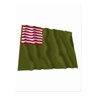 Delaware Regimental Color - Dansey Flag Postcard