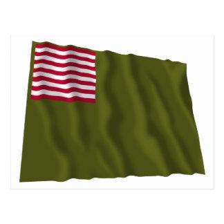 Delaware Regimental Color - Dansey Flag Postcards