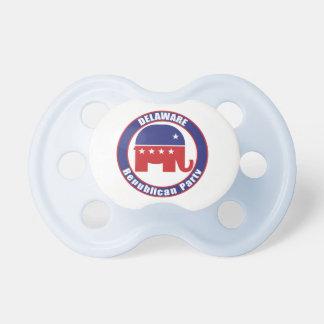 Delaware Republican Party Baby Pacifier