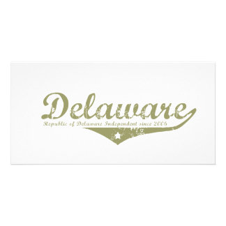 Delaware Revolution T-shirts Customized Photo Card