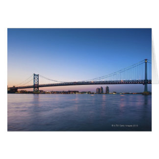 Delaware River, Ben Franklin Bridge Card