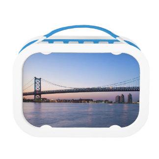 Delaware River, Ben Franklin Bridge Lunch Box