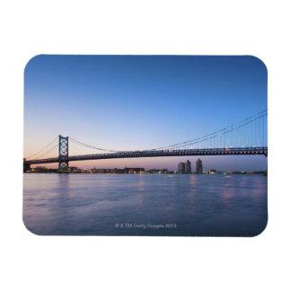 Delaware River, Ben Franklin Bridge Magnet