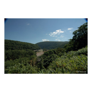 Delaware River Water Gap. print 0057