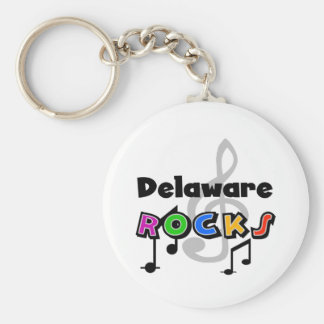 Delaware Rocks Key Ring