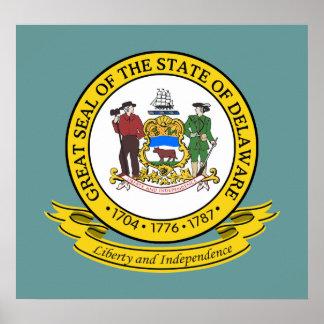 Delaware Seal Poster