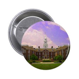 Delaware State Capital 6 Cm Round Badge